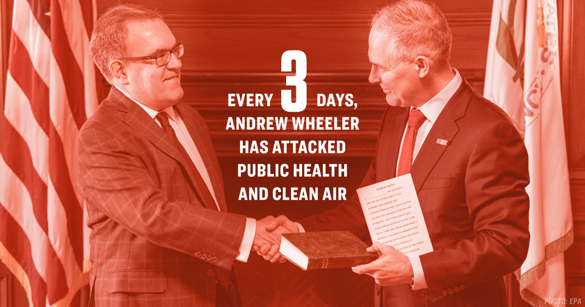Andrew Wheeler's First 100 Days at the EPA, by the Numbers