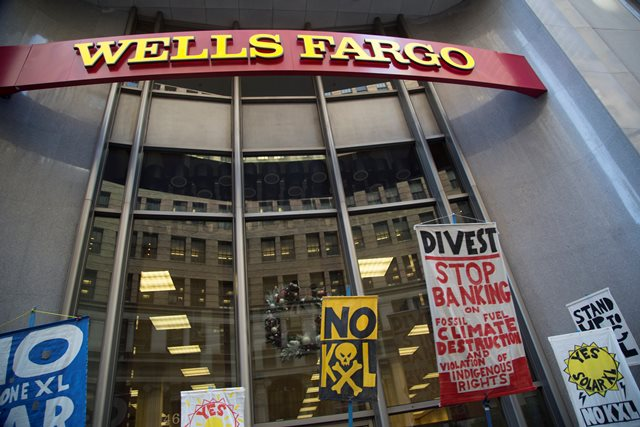 Wells Fargo Has a Choice to Make on Keystone XL & Tar Sands: Double Down or Divest?