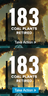 183 coal plants retired!