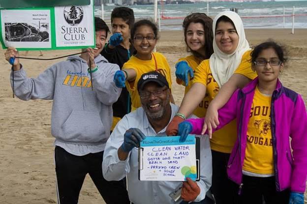 Earth Day Beach Clean Up And Bird Walk Sierra Club