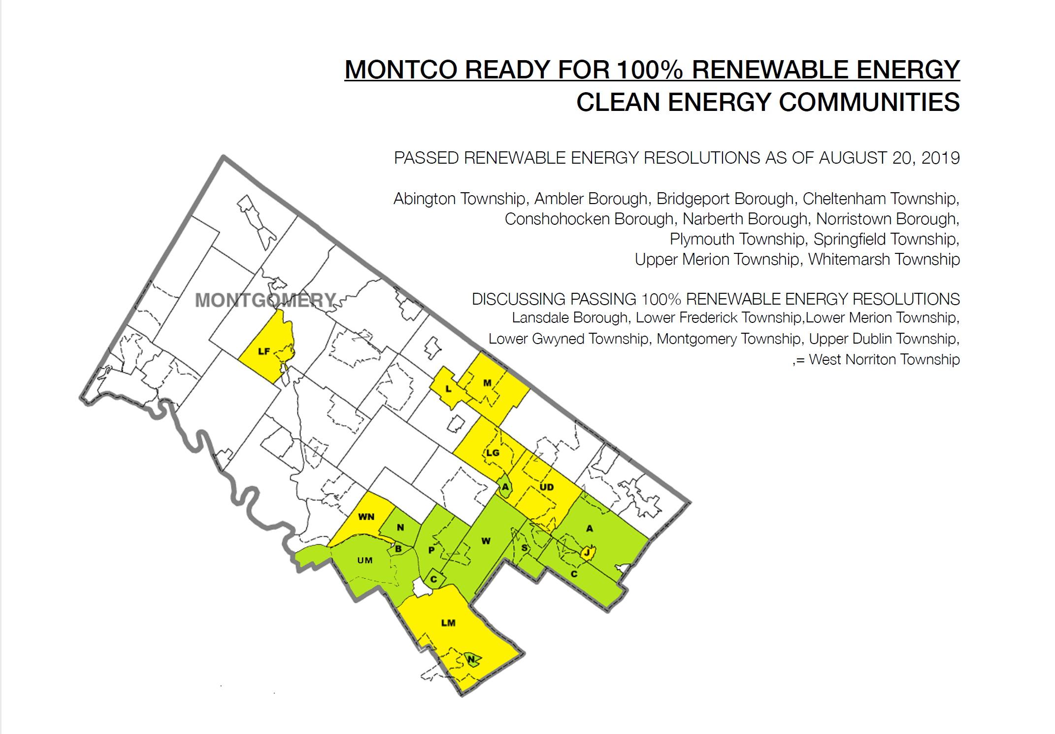 Ready For 100 - Montgomery County | Sierra Club