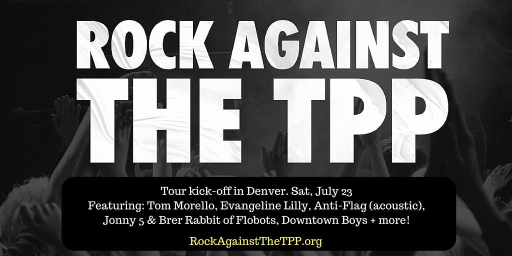 Rock Against The Tpp Sierra Club