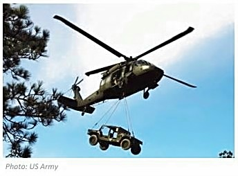 Image of Army helicopter