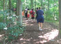 Teaching kids about nature at Radnor Lake