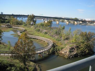 Clark Wetlands Boardwalk, Little Rock