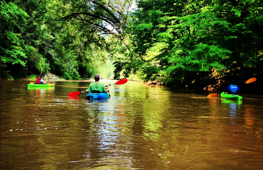 Kayaking the Chestatee