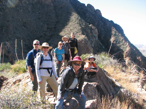 Hiking in Big Bend