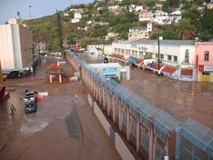 July 2008 flooding in Nogales, Sonora and Nogales, Arizona.