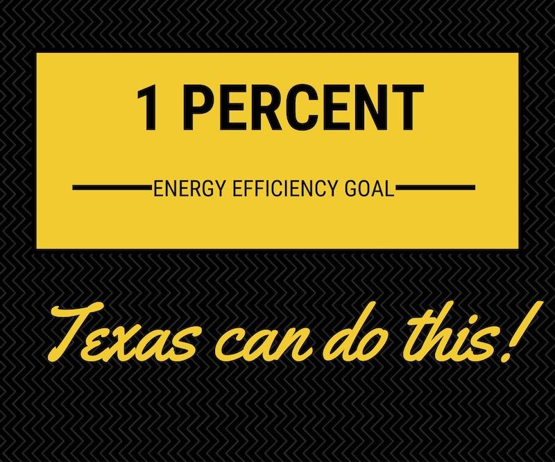 1 percent energy efficiency