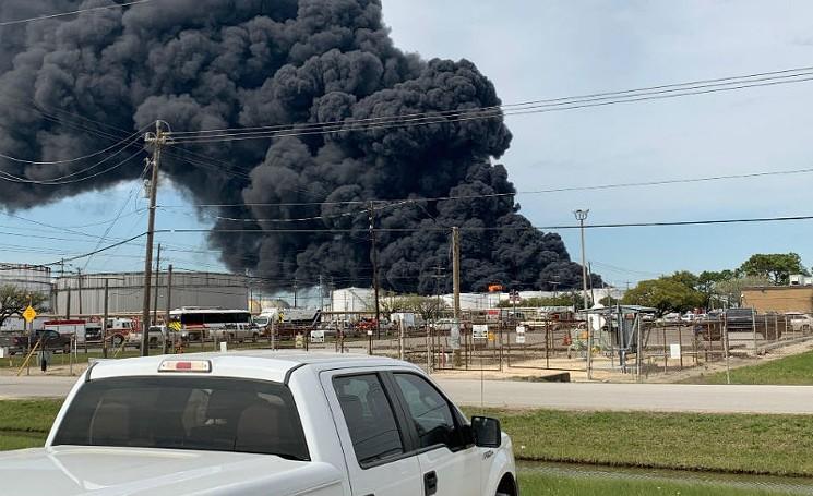 Dallas Water Company >> ITC Fire Response Causes Toxic Contamination of Houston ...