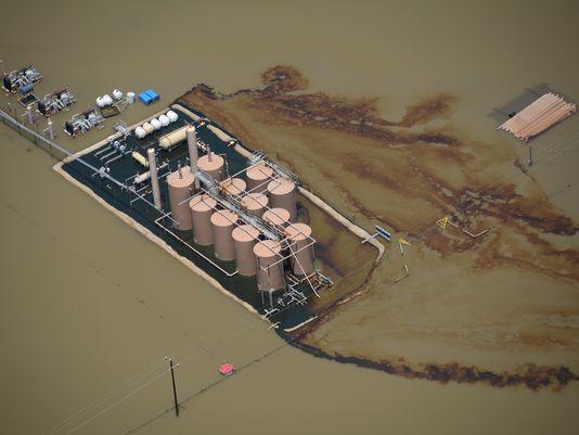 Trinity West Oil Spill