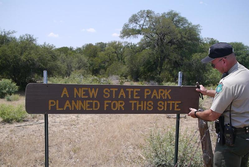 Palo Pinto State Park Sign