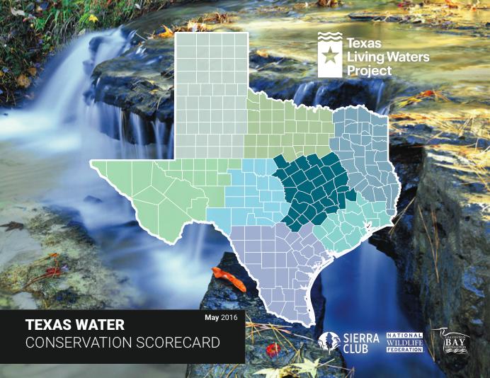 Texas Water Conservation Scorecard