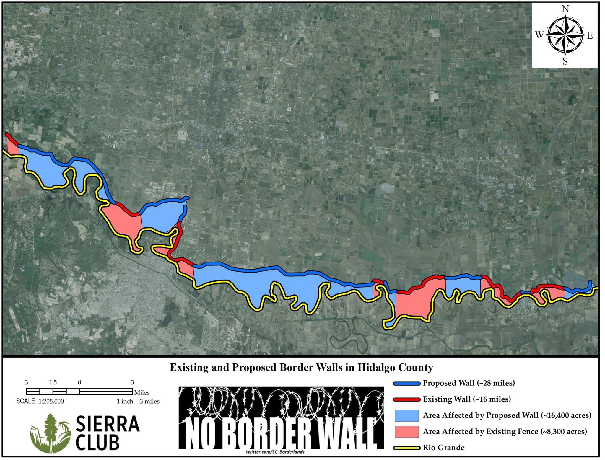 Border Wall Sierra Club
