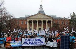 MD Clean Energy Rally, Jan 2015