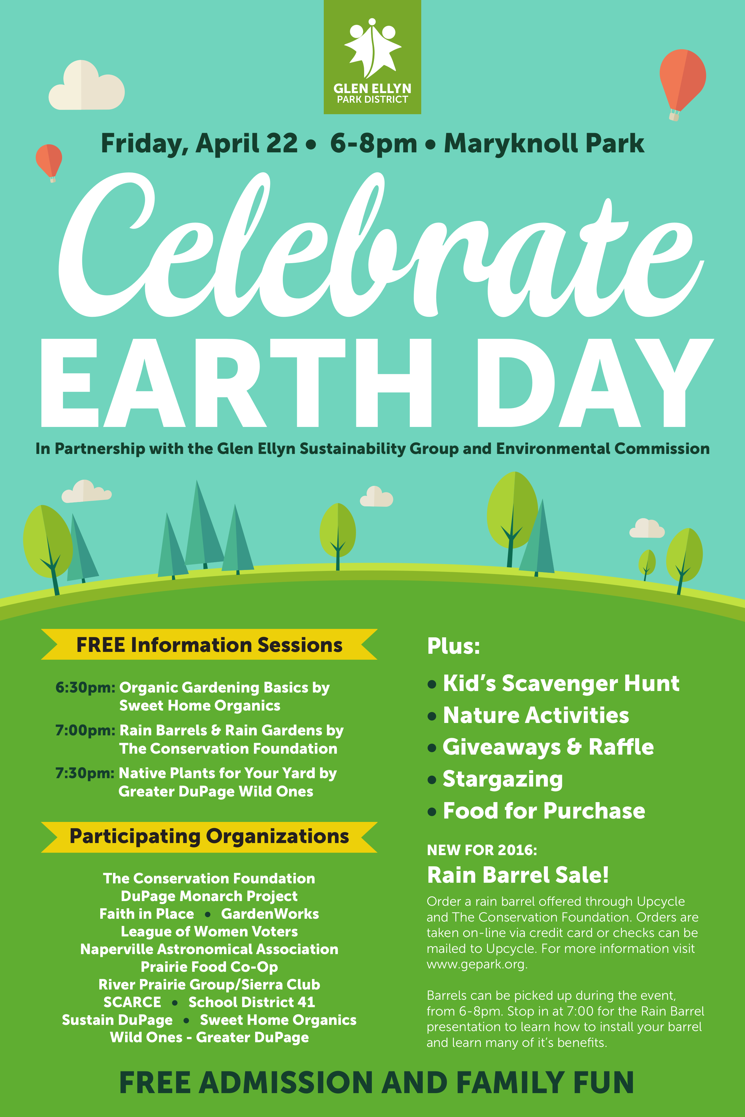Earth Day 2016 Flyer