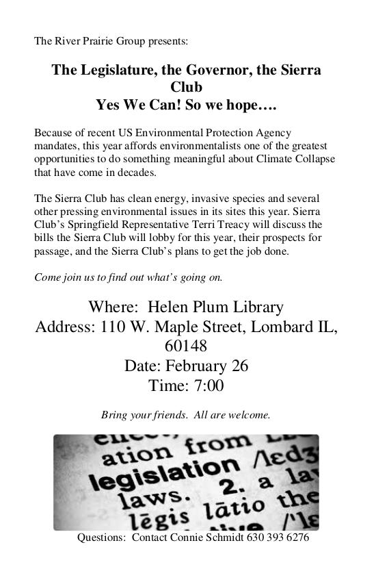 Where: Helen Plum Library Address: 110 W  Maple Street