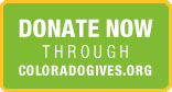 Make a tax-deductible contribution now via Colorado Gives!