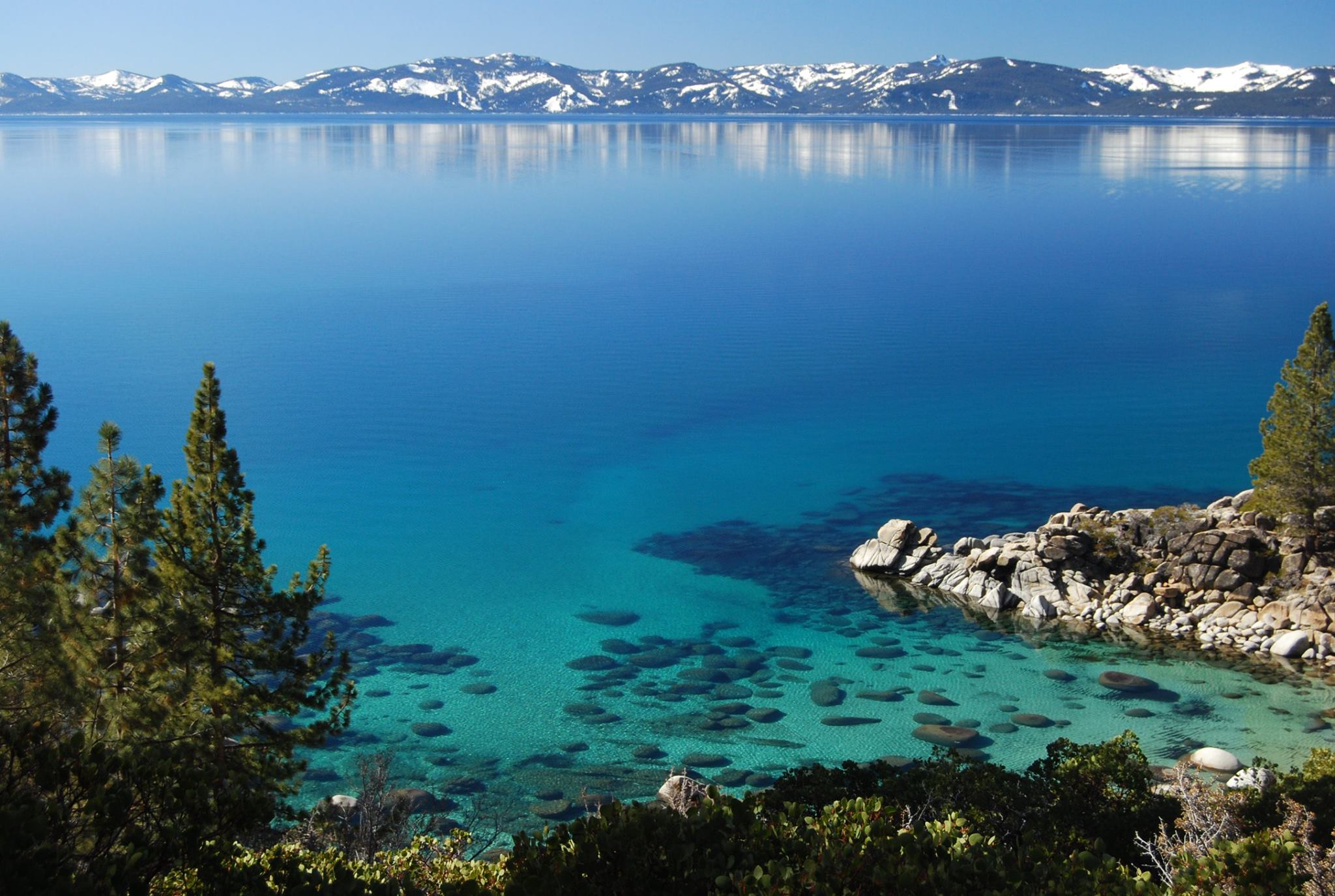 Lake Tahoe from East Shore
