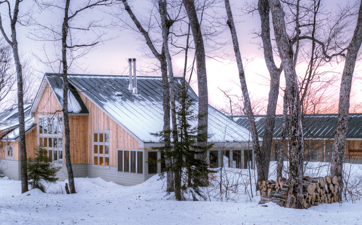 maine huts and trails map Cross Country A Guide To Backcountry Skiing In Maine Sierra Club maine huts and trails map