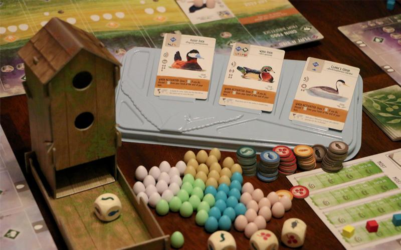 Birdwatching Meets Board Game Night in Wingspan