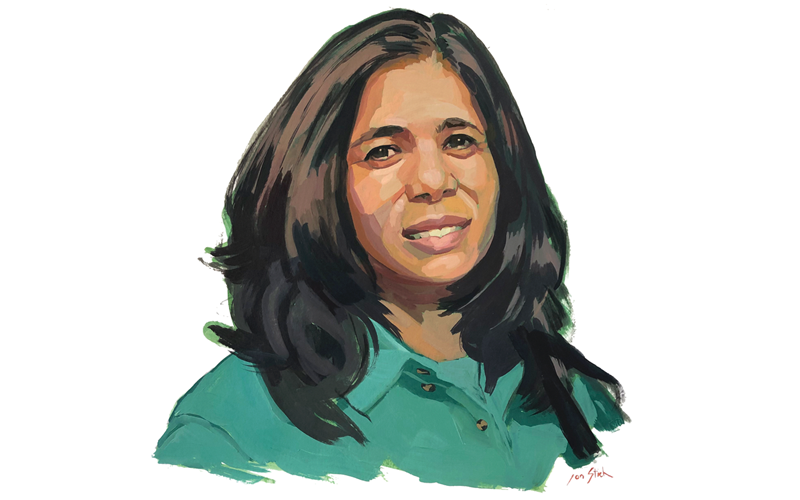 Melba Ayala Provides an Eco-Tour and History Lesson