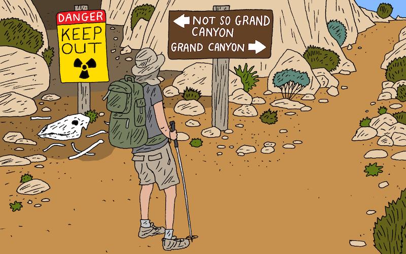 ICYMI: Uranium Canyon, Virus Exploiters & Carnivorous Sponges