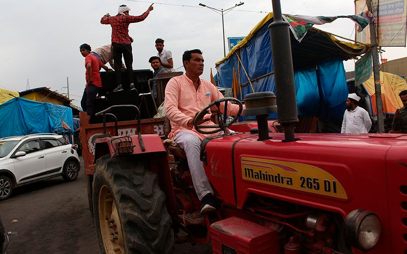 India's Farmer Protests Are Also About Climate Change