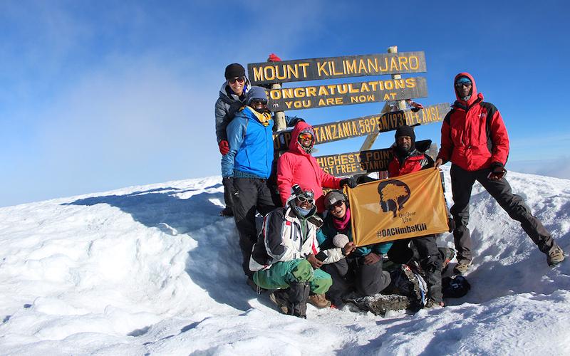 Building Black Community While Climbing Mount Kilimanjaro