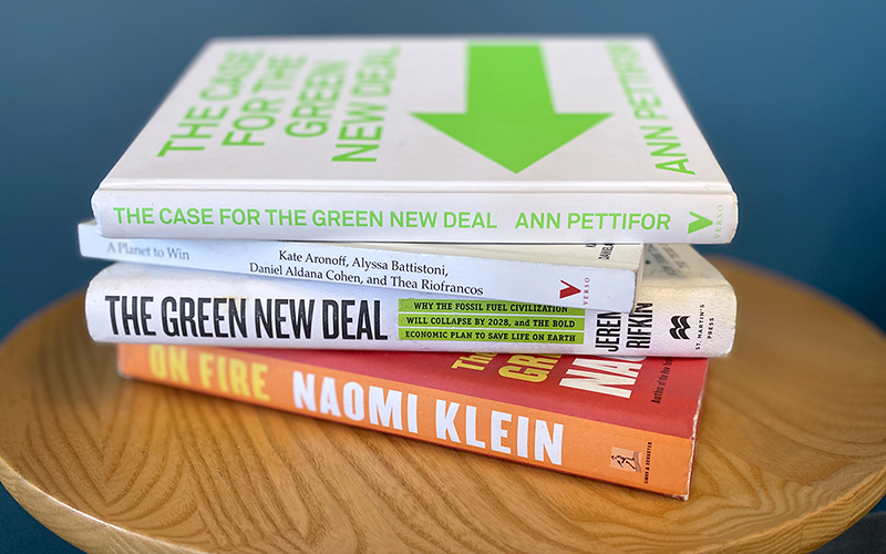 'Tis the Season for Books About the Green New Deal 1