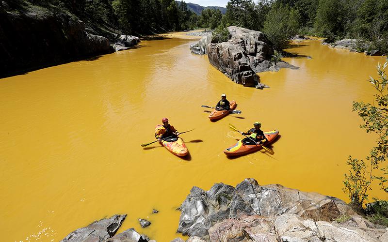 Animas River Colorado Gold King Mine EPA Disaster - cover