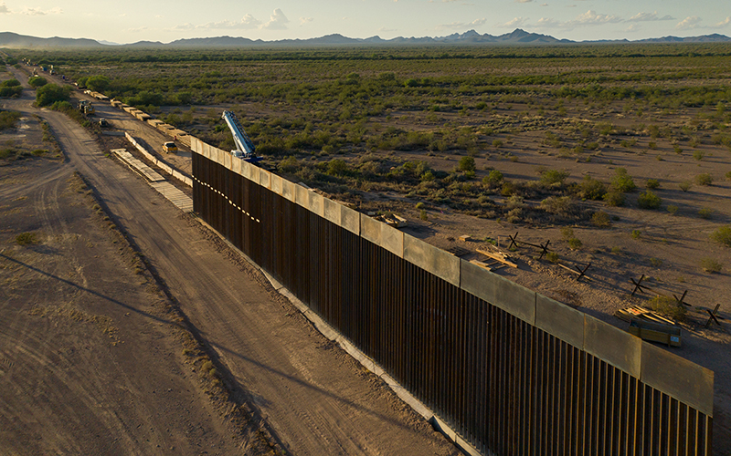Ugly to Behold—This Is What Border Wall Construction Looks Like