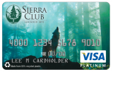 Sierra Club Credit Card from Beneficial State Bank