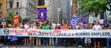Unions march for climate justice