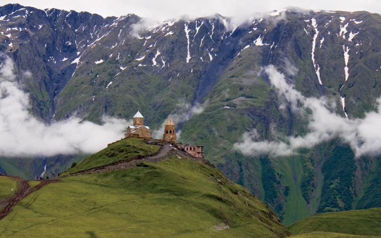 A Hike To A Monastery In The Caucasus Mountains Cures What Ails Ya