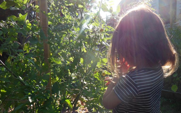 Teaching My Daughter to Love Nature, One Bite at a Time