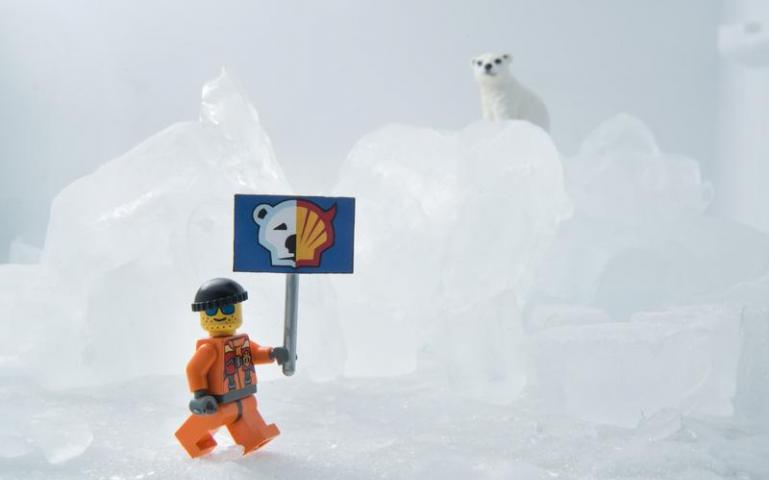 Greenpeace takes on Lego's partnership with Shell.
