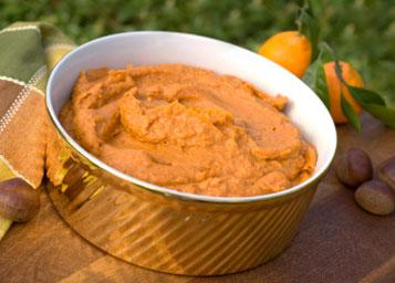 Mashed Sweet Potatoes with Maple Syrup