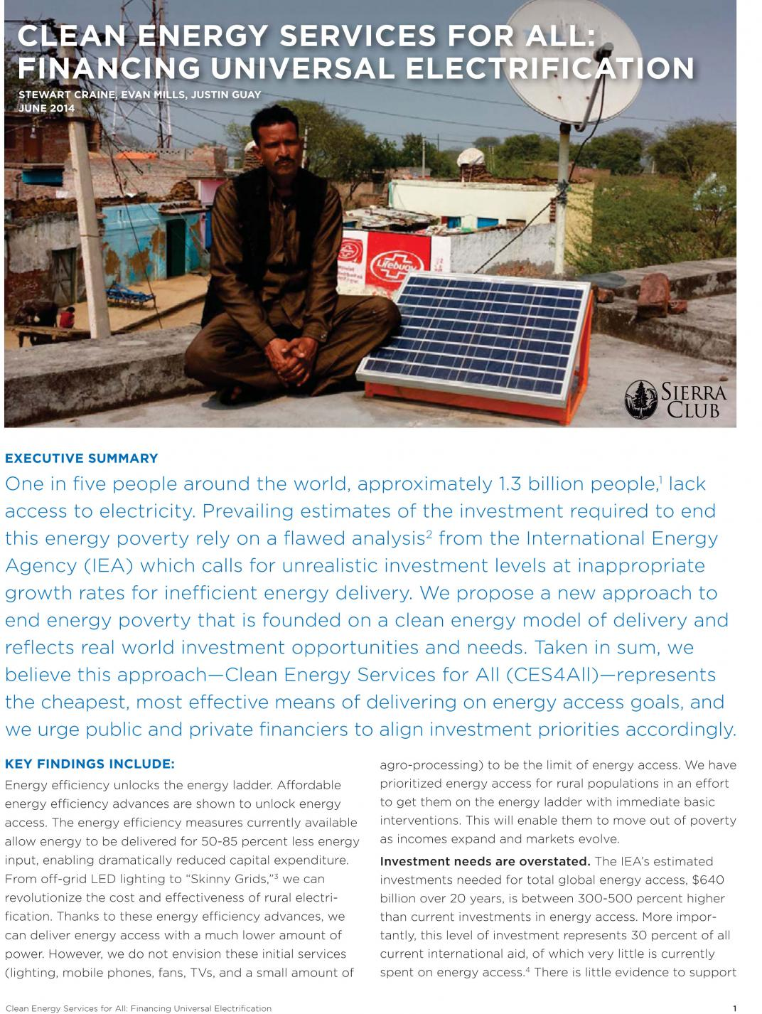 Clean Energy Services for All