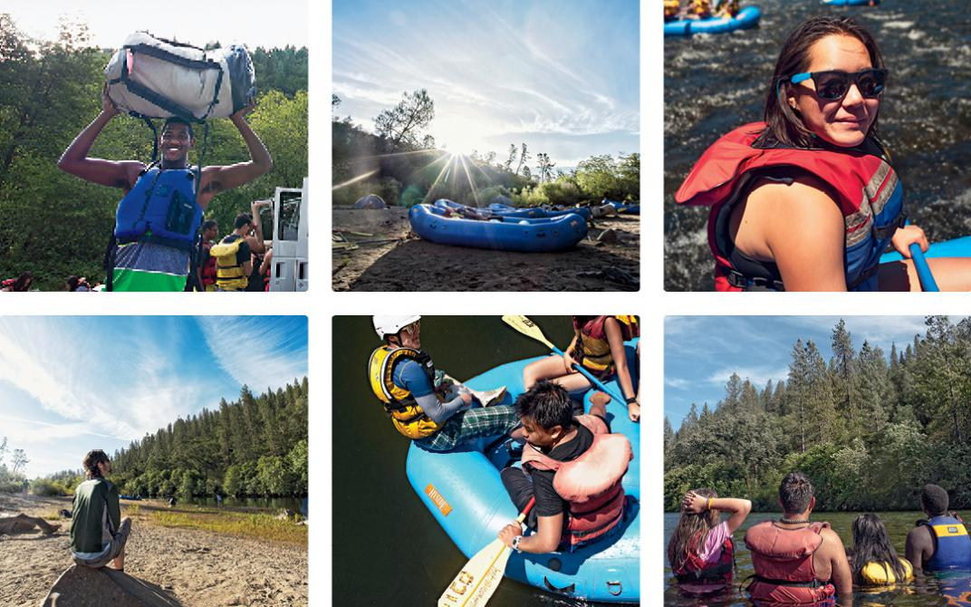 In June 2014, the Sierra Club's Inspiring Connections Outdoors program (formerly known as Inner City Outings) arranged to take 25 Oakland High School students on a two-day rafting trip down Northern California's American River.