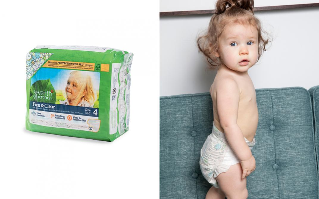 Seventh Generation's Protection for All Diapers