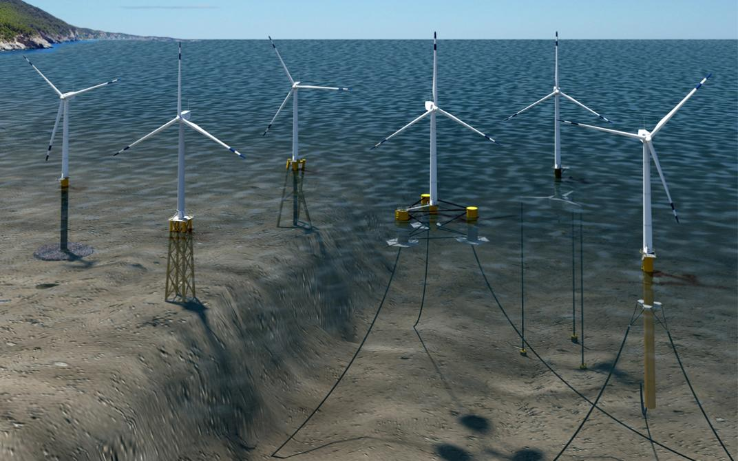 Floating Wind Turbines Could Power the West Coast | Sierra ...