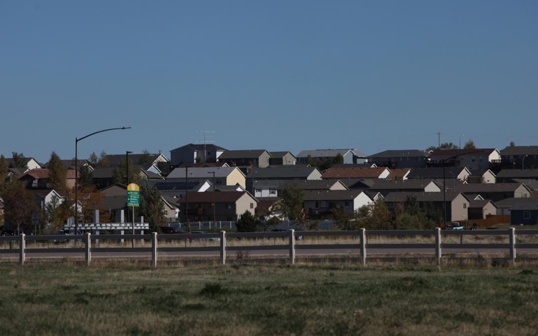 Townhouses in Gillette, Wyoming.