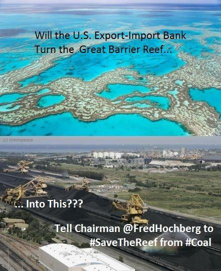 Save the reef from coal