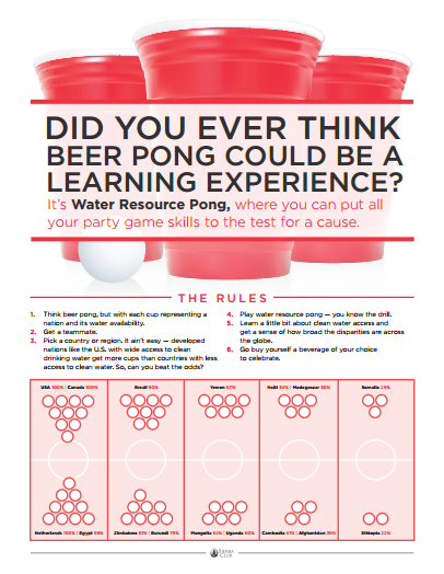 Water Pong