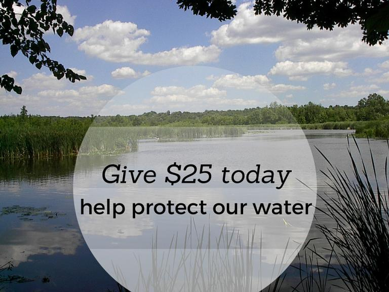 Donate to protect our water