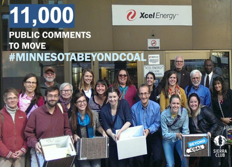 11,000 Public Comments Received to Move #MINNESOTABEYONDCOAL