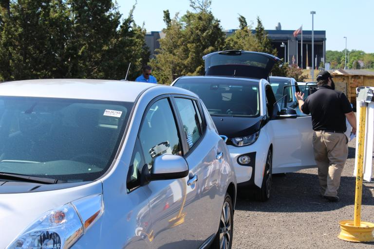 Electric Vehicles at Braintree Test Drive Event
