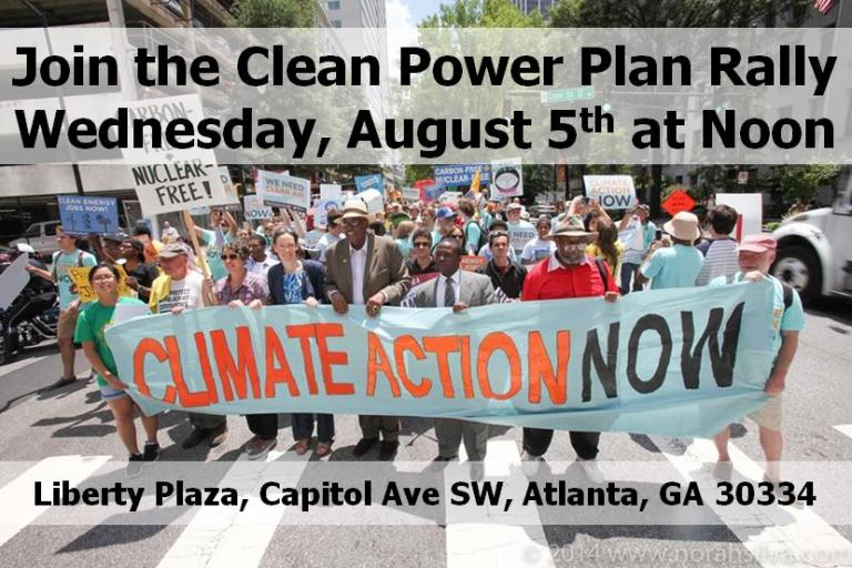 Clean Power Plan Rally - August 8th, 2015