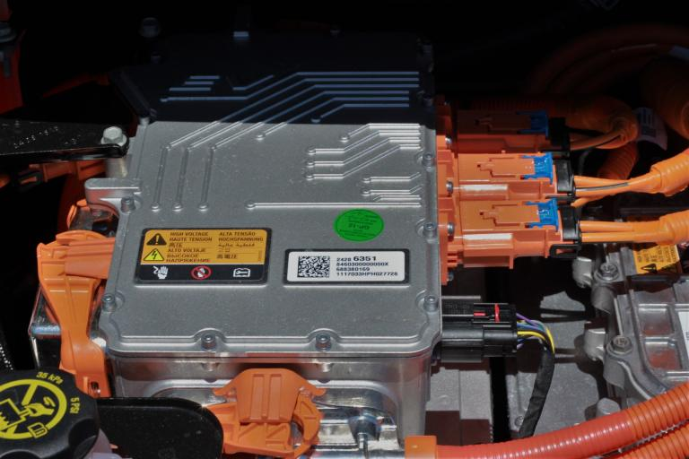The battery of an electric vehicle